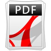 icono logo PDF