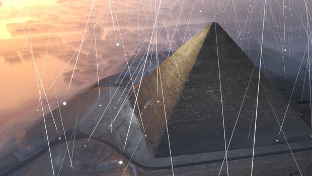 Descubrimiento cámara oculta pirámide de Keops